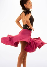 Gonna per balli latini Lucia Move Rosa #2. [Rosa]