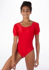 Body Danza Brillante Rosalie Alegra Rosso davanti. [Rosso]