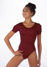 Body Danza Brillante Rosalie Alegra Rosso davanti #2. [Rosso]