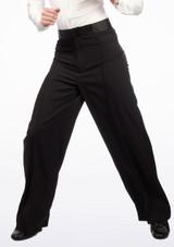 Pantaloni Uomo per balli latini Move Andre Nero. [Nero]