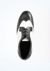 Scarpe da Ballo Ritz a due colori Nero-Bianco #2. [Nero-Bianco]
