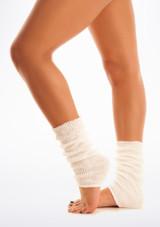 Scaldamuscoli alla Caviglia Bianco [Bianco]