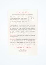 Nastro per piedi Gaynor Minden Bianco Pointe Shoe Accessories [Bianco]