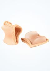 Divisore per piedi II Bunheads Tan Pointe Shoe Accessories [Abbronzatura]