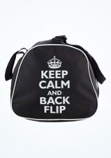 Borsa portatutto Keep Calm and Flip Tappers & Pointers Nero #2. [Nero]