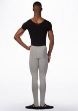 Body maniche corte Uomo Ballet Rosa Nero indietro. [Nero]
