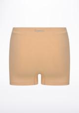 Shorts senza cuciture Repetto Abbronzatura indietro. [Abbronzatura]