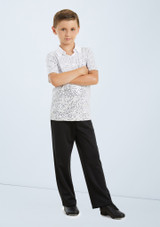 Weissman Sequin Collar Shirt