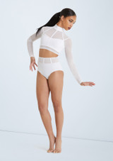 Weissman Cage Strap Crop Top Set