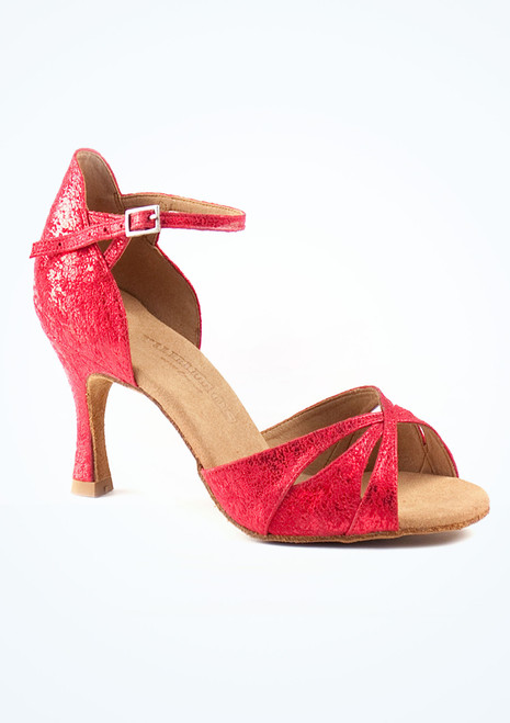 Scarpe da Ballo Rummos Opal Rosse con tacco di 7cm Rosso. [Rosso]