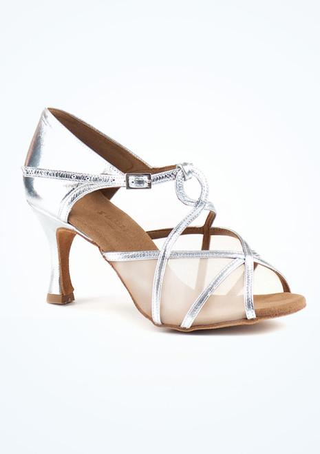 Scarpe da Ballo Rummos Jasper in argento con tacco di 7cm*. [Argento]