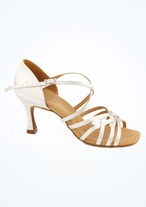 Sandalo con fasce ad incrocio per balli latino-americani Karahari tacco 2.5