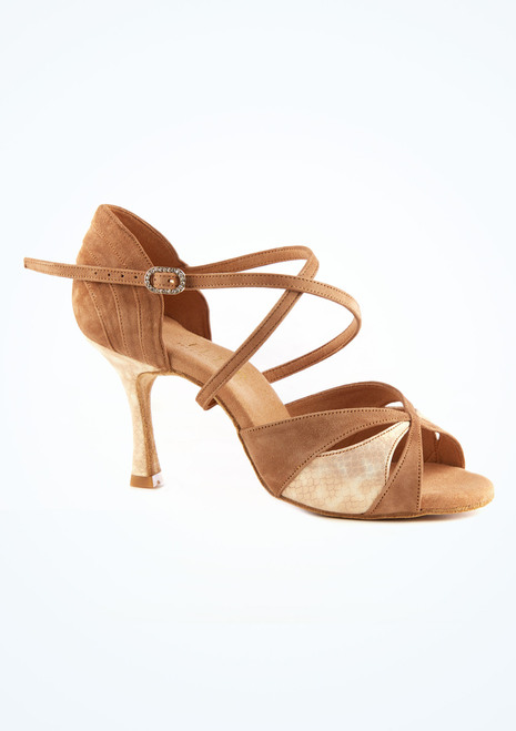 Scarpe da ballo Margot Rummos da 7,6 cm Marrone immagine principale. [Marrone]