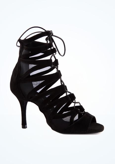 Scarpe da ballo Aliza Rummos da 7,6 cm Nero immagine principale. [Nero]