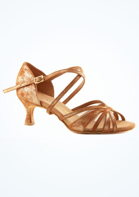 Scarpe da ballo Tina Rummos da 5 cm Abbronzatura immagine principale. [Abbronzatura]