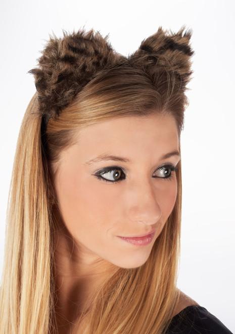 Orecchie fantasia feline Marrone. [Marrone]