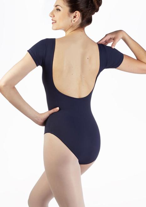 Body schiena nuda Kaela Move Blu indietro. [Blu]