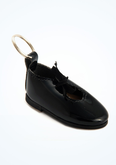 Portachiavi So Danca Mini Scarpe da Tip Tap Nero [Nero]