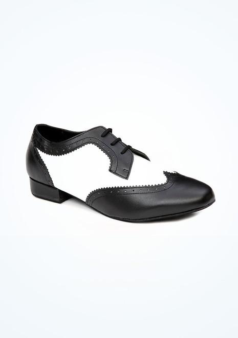 Scarpe da Ballo Ritz a due colori Nero-Bianco. [Nero-Bianco]