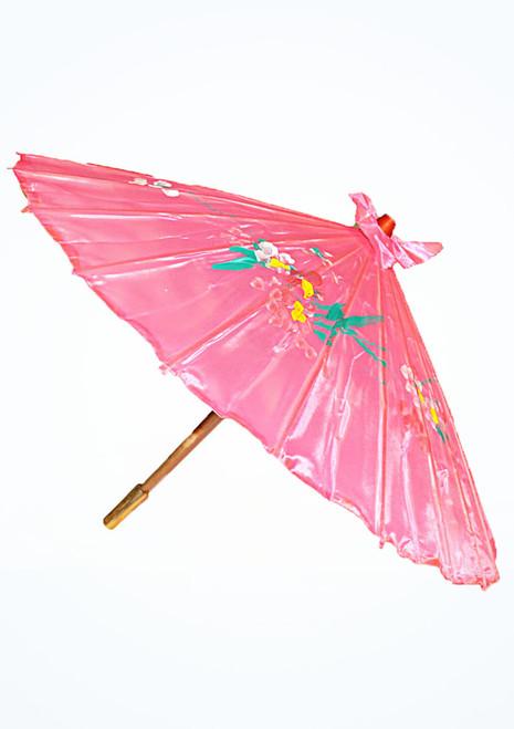 Ombrello in seta Rosa. [Rosa]