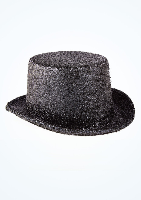 Cappello in lurex Nero davanti. [Nero]
