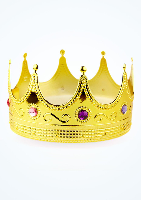 Corona oro con gioielli immagine principale. [Oro]