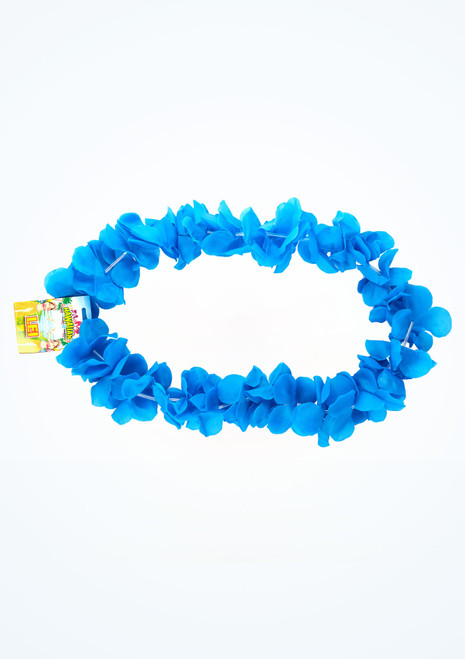 Collana lei hawaiana Blu superiore. [Blu]