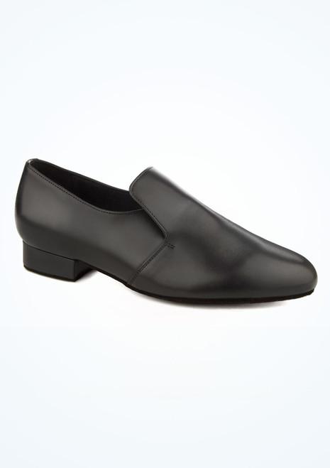 Scarpe facili da indossare per balli da sala per uomo Ray Rose nero immagine principale. [Nero]