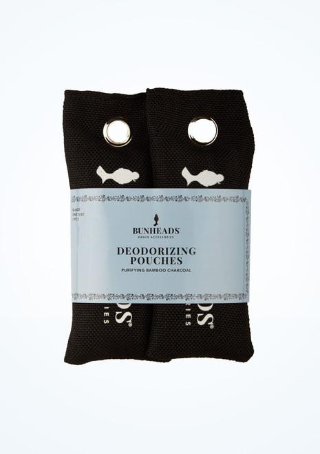 Sacchetti deodoranti Capezio confezione doppia Nero davanti. [Nero]