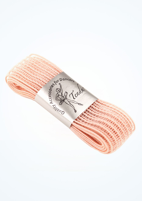 Elastici per scarpe da punta invisibile Tendu Rosa Pointe Shoe Accessories [Rosa]