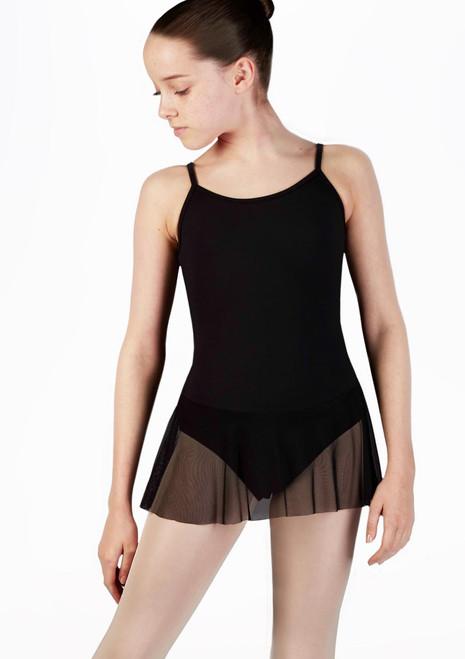 Body Danza Bambina con Gonnellino So Danca Nero. [Nero]