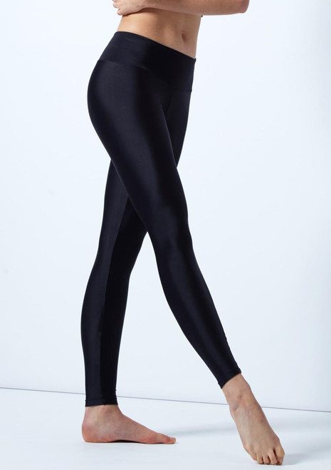 Leggings lucidi So Danca Nero davanti. [Nero]