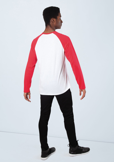 Boys Athletic Top [Rosso]T