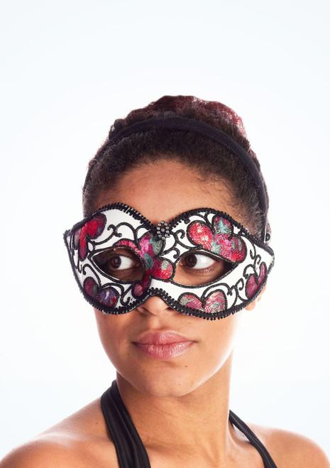 Maschera con fiori Multi-Colore. [Multi-Colore]