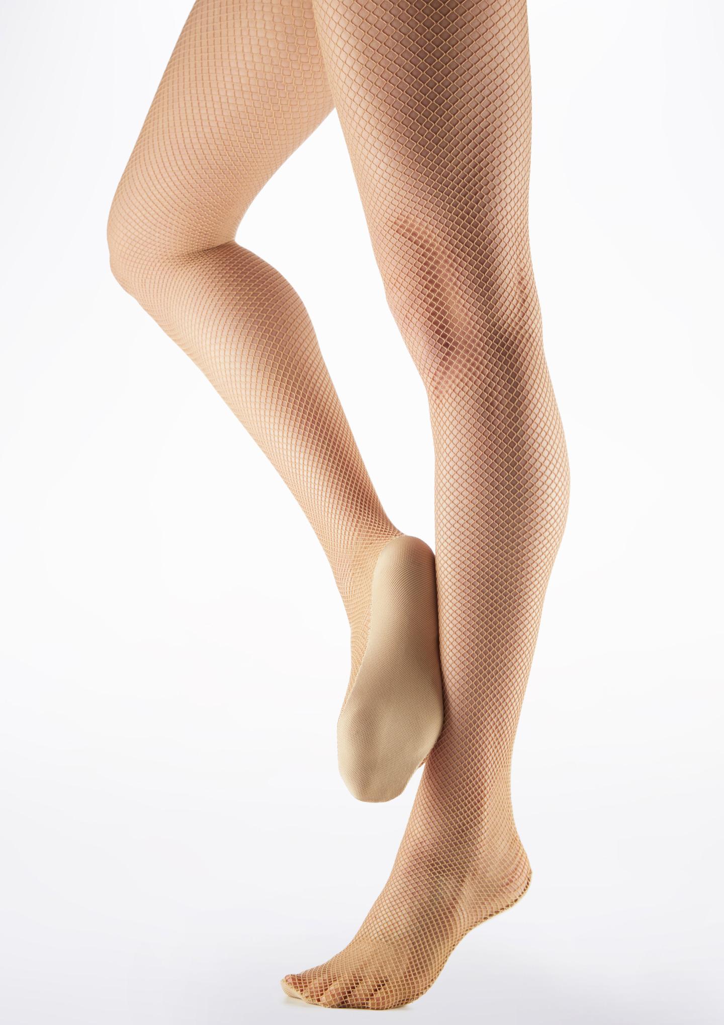 Calze Danza Professionali a Rete Color Carne Marrone immagine principale. [Marrone]