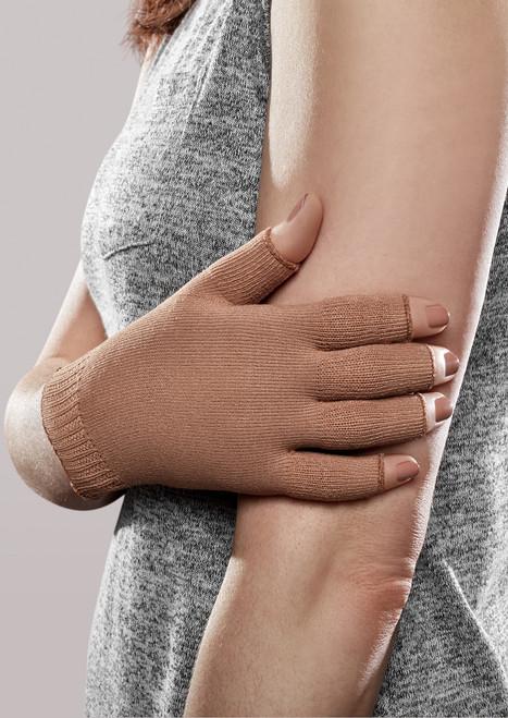 Lauftex Lymphedema Arm Sleeve for Women L Medical Compression Brachioplasty 23-32 mmHg