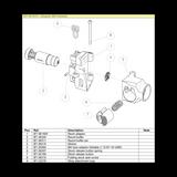 BT-361415 Adaptor M4 Foldable Complete