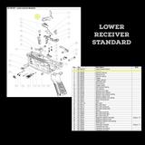 BT-36355  Hammer as seen on Lower Receiver Standard