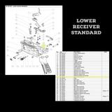 BT-36241  Burst Locking Device as seen on Lower Receiver Standard