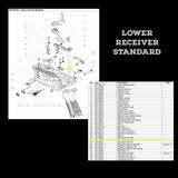 BT-36560 - Bolt Catch Knob Right as seen on Lower Receiver Standard