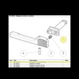 BT-36218 Magazine Retainer Bearing