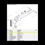 BT-20396 Release Button as seen on Telescopic Stock