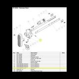 BTN-BN875-3x12  Recoil Buffer Pin as seen on Telescopic Stock