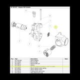 BT-20564 M4 Tube Adaptor Foldable as seen on Adaptor M4 Foldable