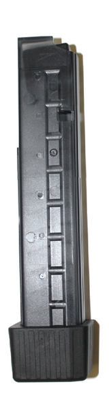 B&T magazine for MP9/TP9/APC9, 30 rounds, cal. 9mm with rubber bumper