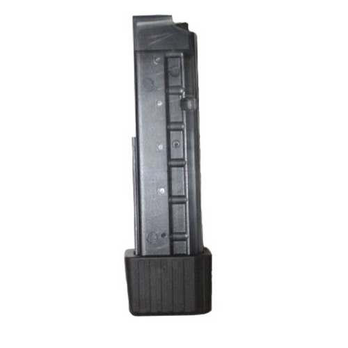B&T magazine for MP9/TP9/APC9, 20 rounds, cal. 9mm with rubber bumper