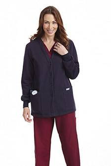 Mobb Button Front Fleece Warm-up Jacket