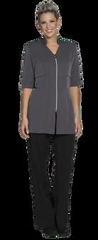 Joanne Martin Long empire waist coat