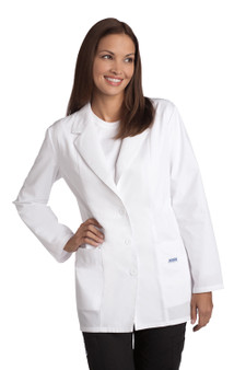 Mobb Ladies Fitted Fashion Lab Coat