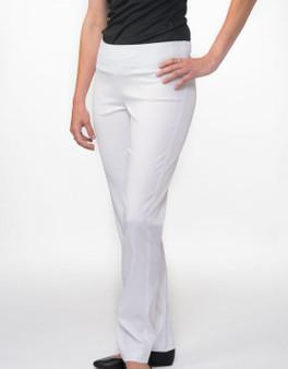Carolyn Design - Pants Lycra Waistband - White